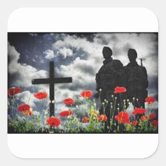 Lone Soldiers WW1 Square Sticker