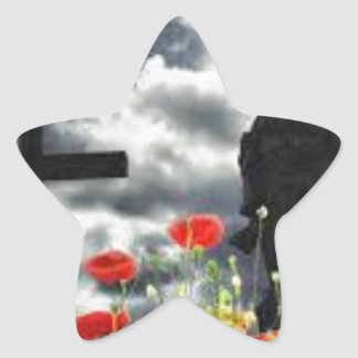 Lone Soldiers WW1 Star Sticker