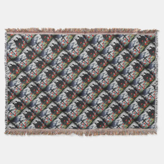 Lone Soldiers WW1 Throw Blanket