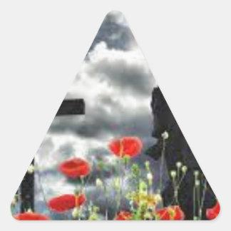 Lone Soldiers WW1 Triangle Sticker