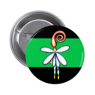 Lone Sprite 6 Cm Round Badge