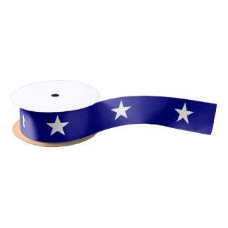 Lone Star Bonnie Blue Patriotic Ribbon Satin Ribbon