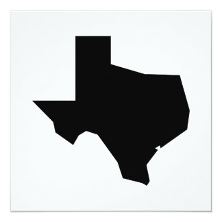 Lone Star by Leslie Peppers 13 Cm X 13 Cm Square Invitation Card