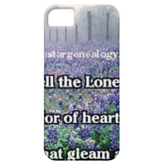 Lone Star Genealogy Poem Bluebonnet Barely There iPhone 5 Case