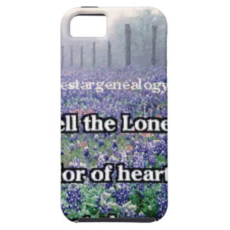 Lone Star Genealogy Poem Bluebonnet iPhone 5 Covers