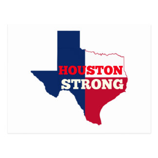 "Lone Star ""Houston Strong"" Postcard"
