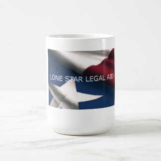 Lone Star Legal Aid Flag Logo Mug