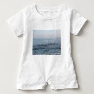 lone surfer baby bodysuit