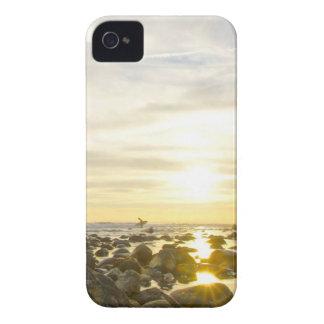 Lone Surfer iPhone 4 Case