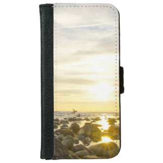 Lone Surfer iPhone 6 Wallet Case