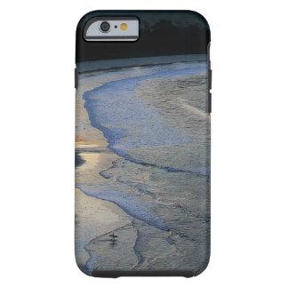 Lone surfer on scenic beach Sumba Tough iPhone 6 Case