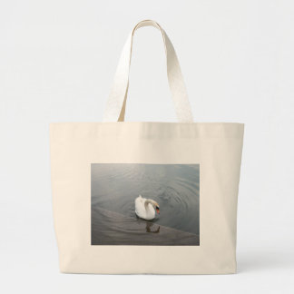 Lone Swan Large Tote Bag