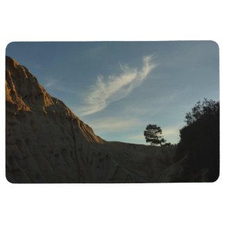 Lone Torrey Pine California Sunset Landscape Floor Mat