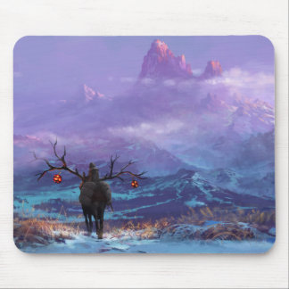 Lone Traveller Mouse Pad