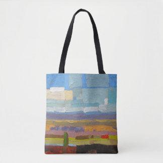 Lone Tree & House Rock Hand Bag