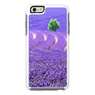 Lone tree in Lavender Field, France OtterBox iPhone 6/6s Plus Case