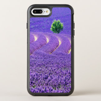 Lone tree in Lavender Field, France OtterBox Symmetry iPhone 8 Plus/7 Plus Case