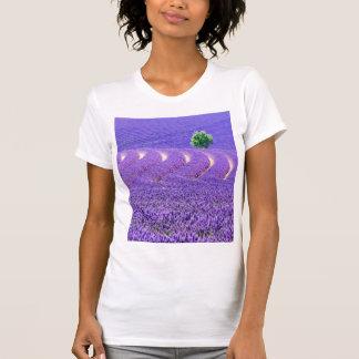 Lone tree in Lavender Field, France T-Shirt