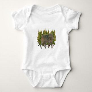 Lone Wolf Baby Bodysuit