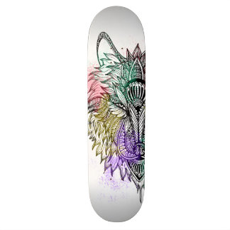 Lone Wolf Color 18.1 Cm Old School Skateboard Deck