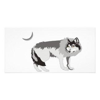 Lone Wolf II -Mystery Canine! Customised Photo Card
