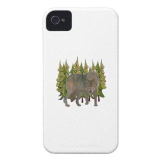 Lone Wolf iPhone 4 Case-Mate Case