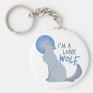 Lone Wolf Key Ring