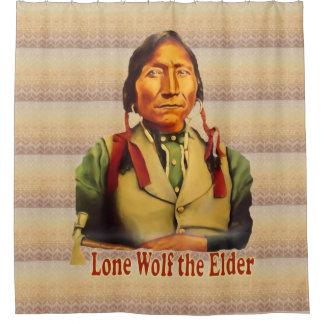 Lone Wolf Kiowa Chief Shower Curtain