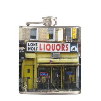 Lone Wolf Liquors Photo Flask