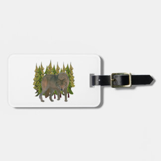 Lone Wolf Luggage Tag
