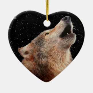 Lone Wolf - Multi-Products Ceramic Ornament