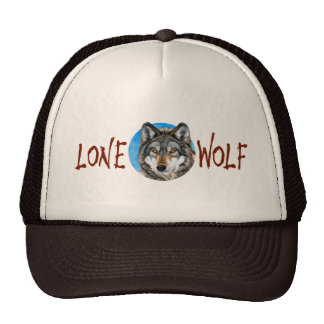 Lone Wolf Painting Cap