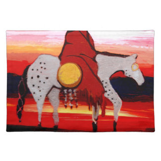 Lone Wolf Placemats