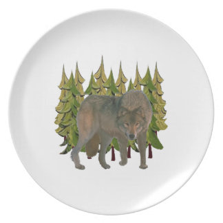 Lone Wolf Plate
