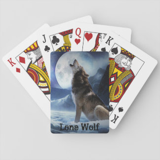 Lone Wolf Poker Playing Cards
