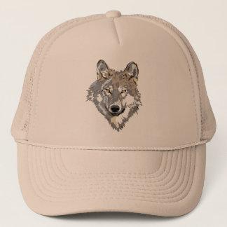 Lone Wolf Trucker Hat
