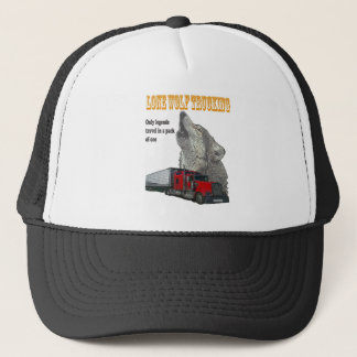 Lone Wolf Trucking Trucker Hat