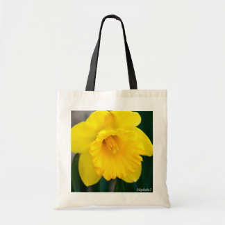 Lone Yellow Daffodil Tote Bag