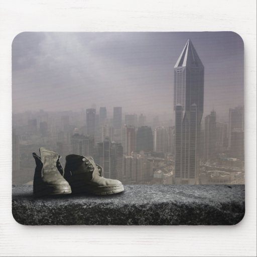 Loneliness Mousepads