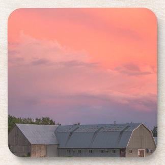Lonely Barn Coaster