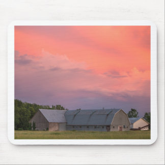 Lonely Barn Mouse Pad
