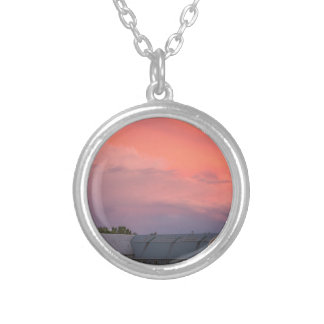 Lonely Barn Silver Plated Necklace