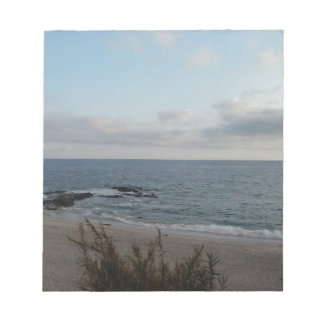 lonely beach notepad