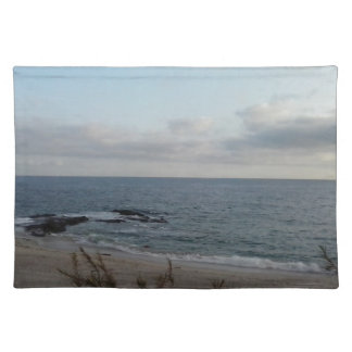 lonely beach placemat