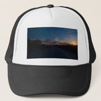 Lonely Bike Path Trucker Hat