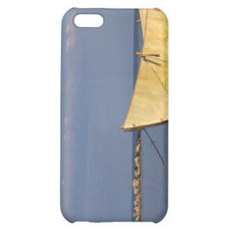 Lonely boat iPhone 5C case