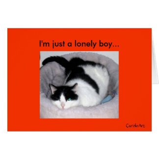 """""""Lonely Boy"""" Cards"""
