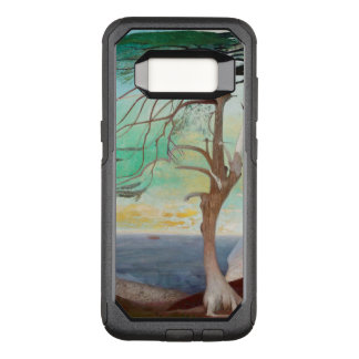 Lonely Cedar Tree Landscape Painting OtterBox Commuter Samsung Galaxy S8 Case