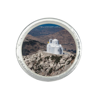 Lonely church in Greek mountains