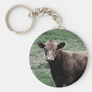 Lonely Cow Key Ring